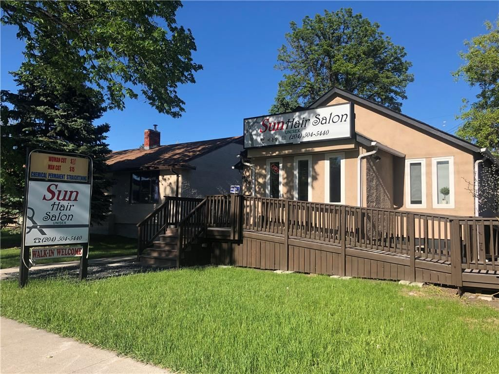Main Photo: 823 St Mary's Road in Winnipeg: Industrial / Commercial / Investment for sale (2D)  : MLS®# 202104492