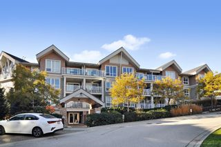 "Photo 1: 103 6420 194 Street in Surrey: Cloverdale BC Condo for sale in ""WATERSTONE"" (Cloverdale)  : MLS®# R2508915"