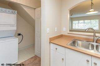 """Photo 4: 40 5988 HASTINGS Street in Burnaby: Capitol Hill BN Condo for sale in """"SATURNA"""" (Burnaby North)  : MLS®# R2314385"""