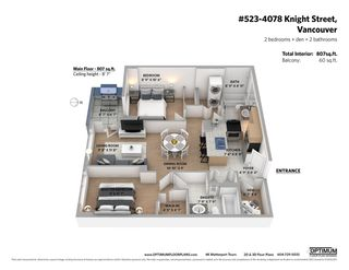 """Photo 27: 523 4078 KNIGHT Street in Vancouver: Knight Condo for sale in """"King Edward Village"""" (Vancouver East)  : MLS®# R2572938"""