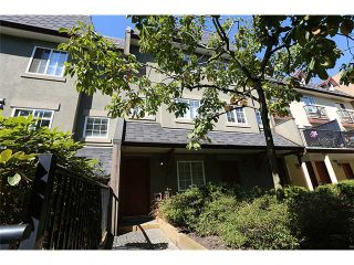"""Photo 1: 25 1561 BOOTH Avenue in Coquitlam: Maillardville Townhouse for sale in """"The Courcelles"""" : MLS®# V1026526"""
