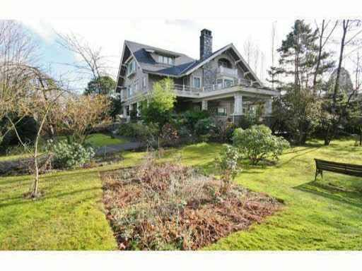 Main Photo: 1490 BALFOUR AVENUE in : Shaughnessy House for sale : MLS®# V866636