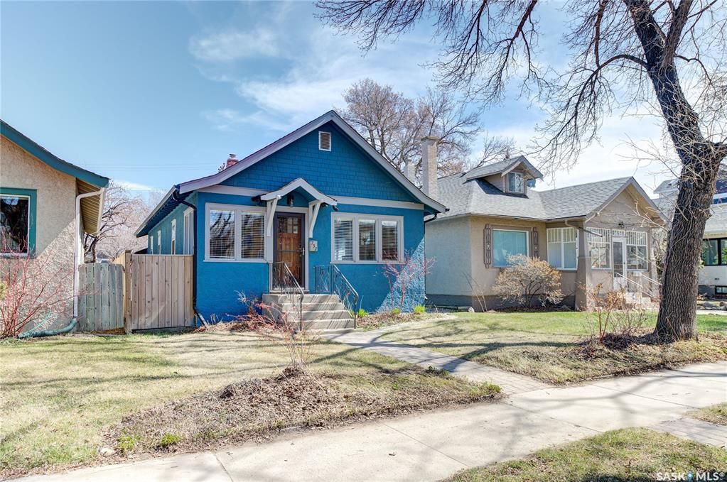 Main Photo: 732 5th Avenue North in Saskatoon: City Park Residential for sale : MLS®# SK852619