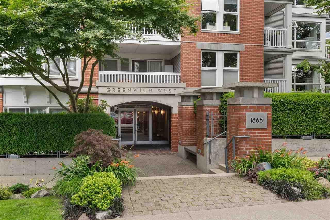 "Main Photo: 209 1868 W 5TH Avenue in Vancouver: Kitsilano Condo for sale in ""Greenwich"" (Vancouver West)  : MLS®# R2479221"