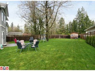 "Photo 10: 3158 COALMAN PL in Abbotsford: Aberdeen House for sale in ""STATION ROAD/ALDERGROVE"" : MLS®# F1110805"