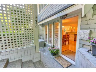 "Photo 2: 3450 W 3RD Avenue in Vancouver: Kitsilano Townhouse for sale in ""COLLINGWOOD MANOR"" (Vancouver West)  : MLS®# V924454"