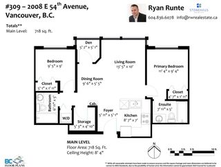"""Photo 27: 309 2008 E 54TH Avenue in Vancouver: Fraserview VE Condo for sale in """"CEDAR 54"""" (Vancouver East)  : MLS®# R2587612"""