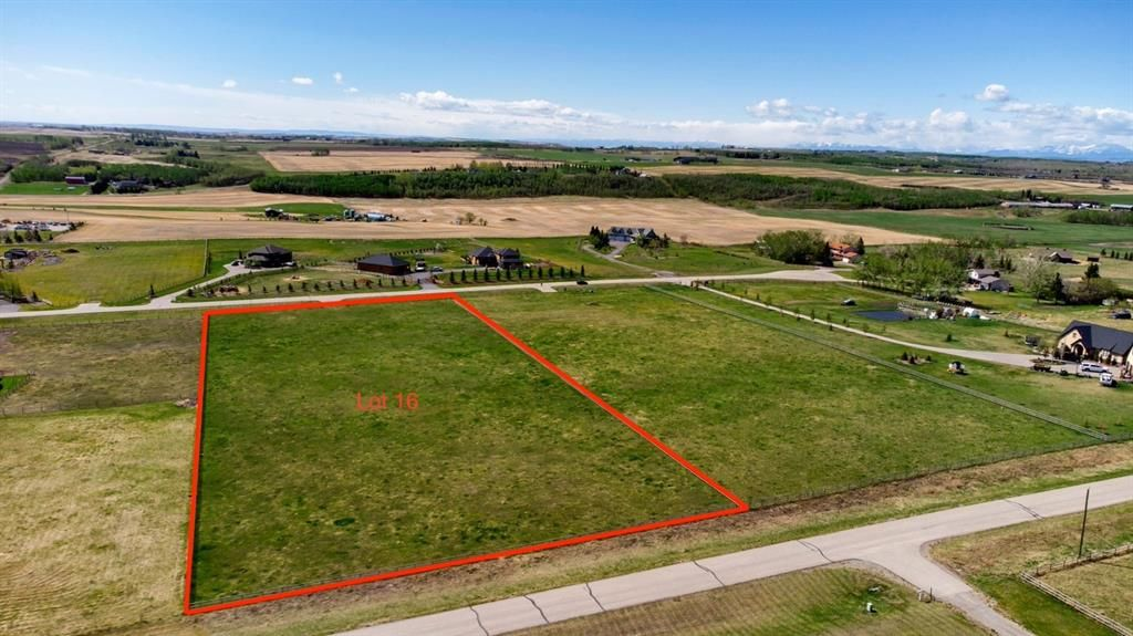 Main Photo: 56088 Ridgeview Drive E: Rural Foothills County Residential Land for sale : MLS®# A1107787