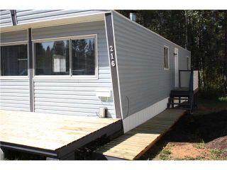 Photo 2: 216 1427 DOG CREEK Road in Williams Lake: Esler/Dog Creek Manufactured Home for sale (Williams Lake (Zone 27))  : MLS®# N204498