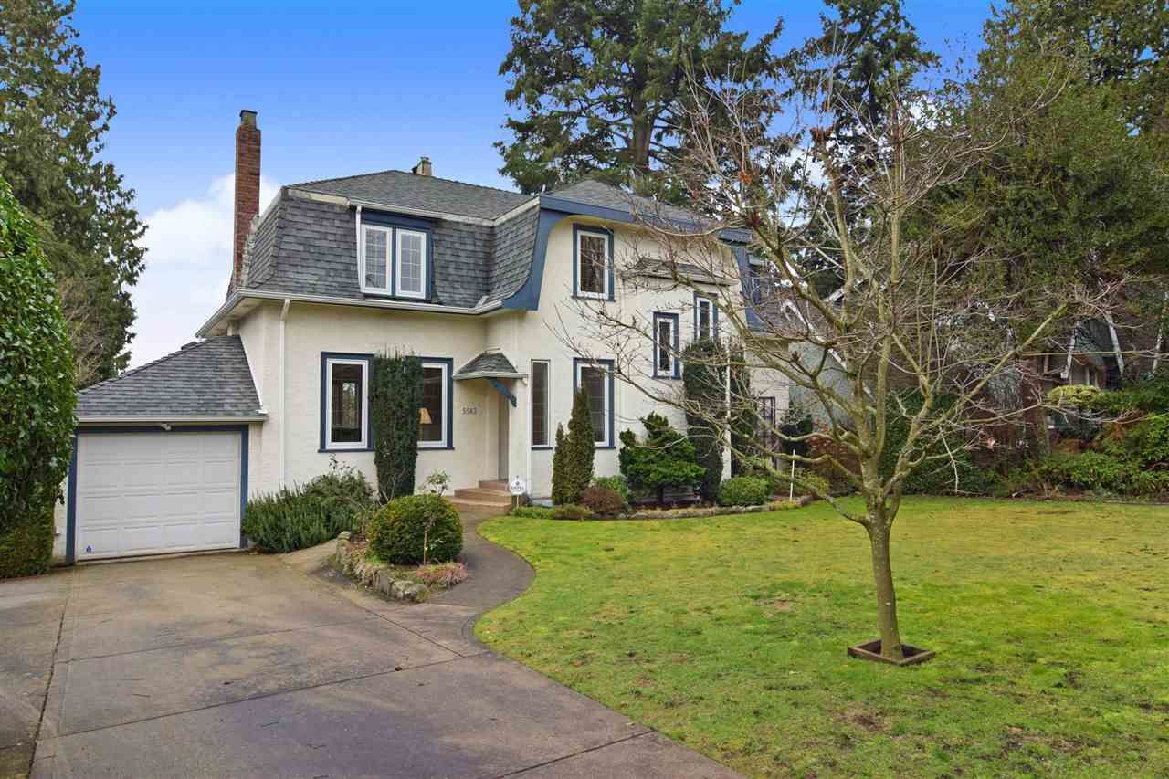 Main Photo: 5583 LABURNUM STREET in Vancouver: Shaughnessy House for sale (Vancouver West)  : MLS®# R2534673