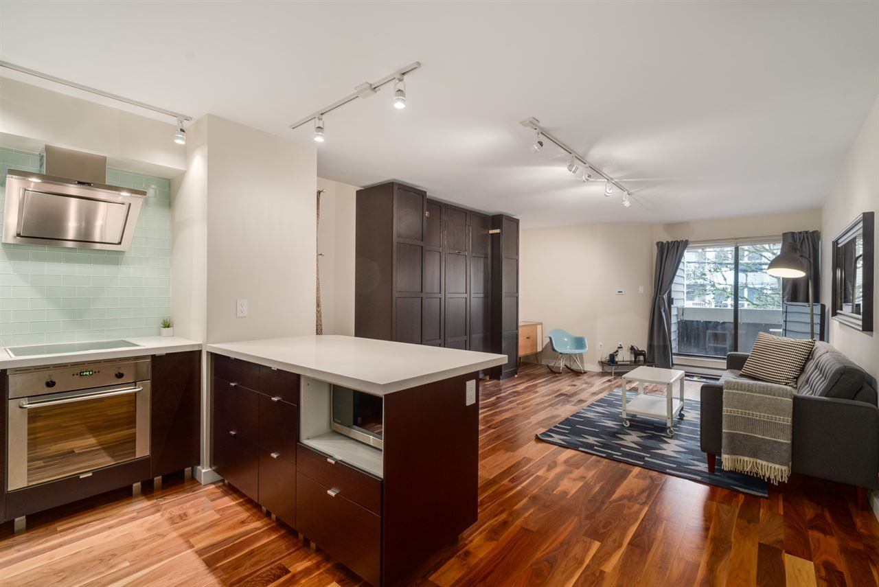 """Main Photo: 206 1545 E 2ND Avenue in Vancouver: Grandview VE Condo for sale in """"TALISHAN WOODS"""" (Vancouver East)  : MLS®# R2231969"""