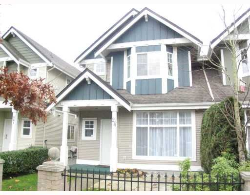 Main Photo: 28 4811 BLAIR Drive in Richmond: West Cambie Townhouse for sale : MLS®# V678064
