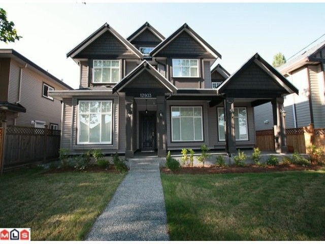Main Photo: 12933 88TH Avenue in Surrey: Queen Mary Park Surrey House for sale : MLS®# F1021819