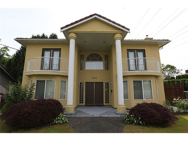 """Main Photo: 938 4TH ST in New Westminster: GlenBrooke North House for sale in """"GLENBROOKE AREA"""" : MLS®# V1011649"""