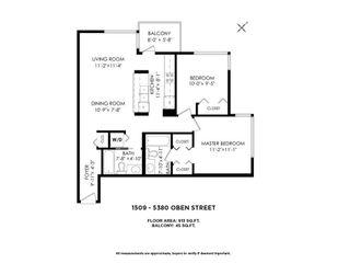 "Photo 39: 1509 5380 OBEN Street in Vancouver: Collingwood VE Condo for sale in ""URBA"" (Vancouver East)  : MLS®# R2608209"