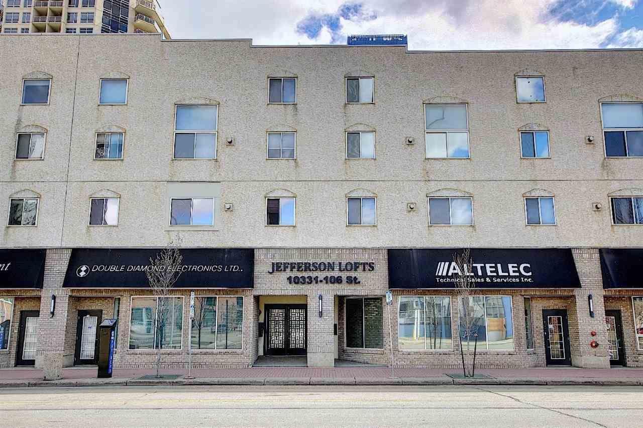 Main Photo: 10 10331 106 Street in Edmonton: Zone 12 Condo for sale : MLS®# E4241949