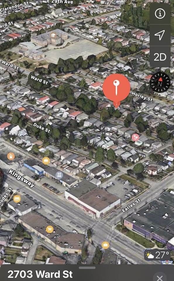 FEATURED LISTING: 2703 WARD Street Vancouver