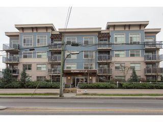 """Photo 1: 202 19936 56 Avenue in Langley: Langley City Condo for sale in """"BEARING POINTE"""" : MLS®# R2240895"""