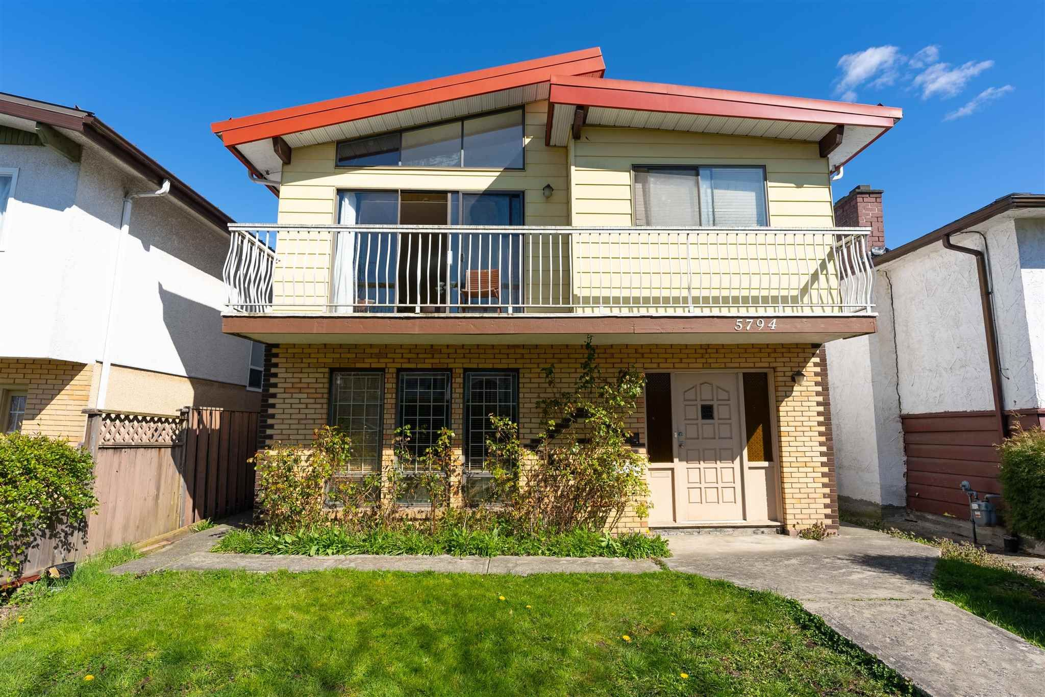 Main Photo: 5794 LANARK Street in Vancouver: Knight House for sale (Vancouver East)  : MLS®# R2601855