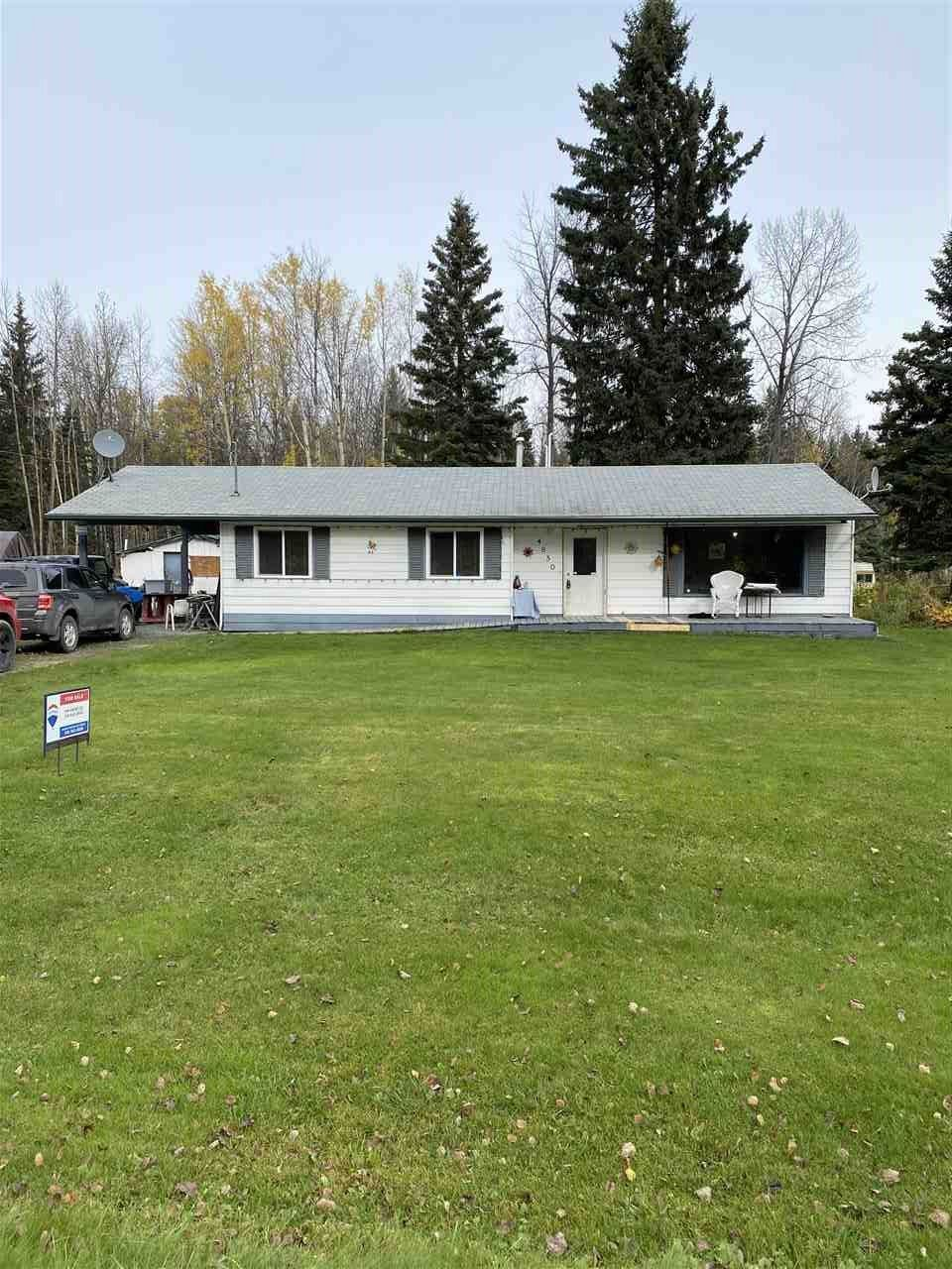 Photo 1: Photos: 4850 SALMON VALLEY Road in Prince George: Salmon Valley House for sale (PG Rural North (Zone 76))  : MLS®# R2509615