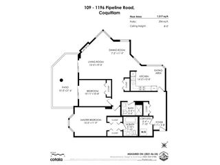 """Photo 33: 109 1196 PIPELINE Road in Coquitlam: North Coquitlam Condo for sale in """"THE HUDSON"""" : MLS®# R2597249"""