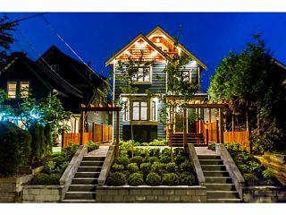 Photo 1: 1284 E 14TH Avenue in Vancouver: Mount Pleasant VE 1/2 Duplex for sale (Vancouver East)  : MLS®# V1035375