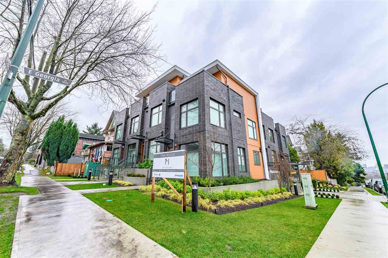 Main Photo: TH2 1882 E GEORGIA STREET in Vancouver: Grandview Woodland Townhouse for sale (Vancouver East)  : MLS®# R2532739