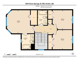Photo 35: 955 Prairie Springs Drive SW: Airdrie Detached for sale : MLS®# A1115549