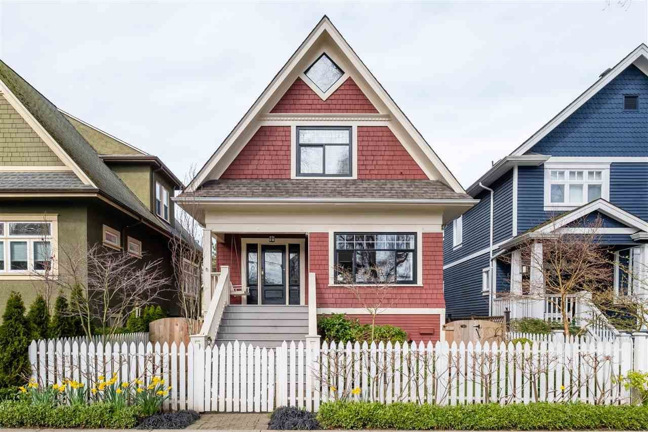 Main Photo: 21 E 17th Ave in Vancouver: Main House for sale (Vancouver East)  : MLS®# R2561564