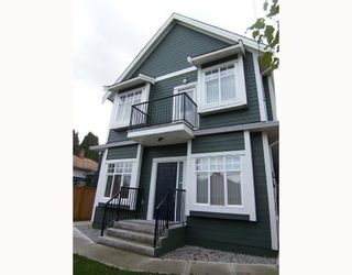 Photo 1: 1783 E 15TH Avenue in Vancouver: Grandview VE 1/2 Duplex for sale (Vancouver East)  : MLS®# V688271