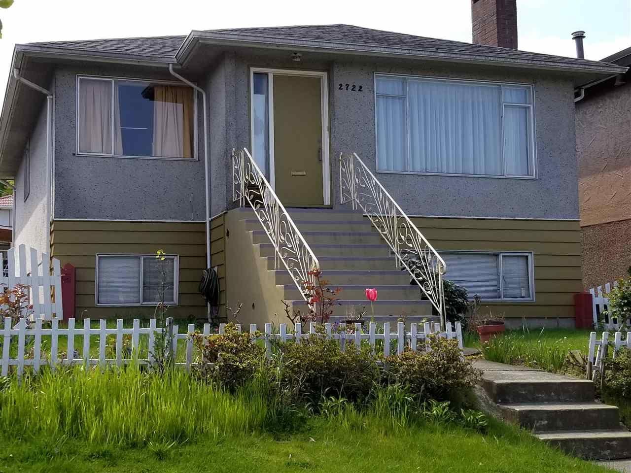 Main Photo: 2722 KITCHENER STREET in : Renfrew VE House for sale : MLS®# R2285572