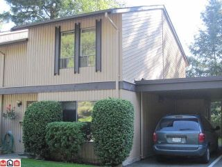 """Photo 1: 5 3015 TRETHEWEY Street in Abbotsford: Abbotsford West Townhouse for sale in """"BIRCH GROVE TERRACE"""" : MLS®# F1025529"""