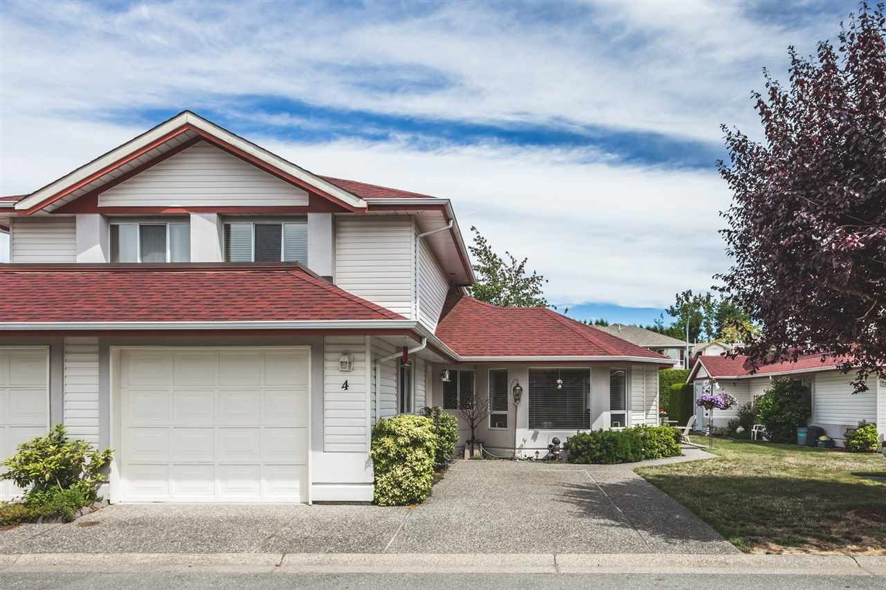 """Main Photo: 4 31406 UPPER MACLURE Road in Abbotsford: Abbotsford West Townhouse for sale in """"Ellwood Estates"""" : MLS®# R2286318"""