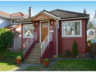 """Photo 1: 38 W 20TH Avenue in Vancouver: Cambie House for sale in """"CAMBIE VILLAGE"""" (Vancouver West)  : MLS®# V1053953"""