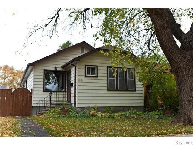 Main Photo: 93 Hill Street in Winnipeg: Norwood Residential for sale (2B)  : MLS®# 1626546