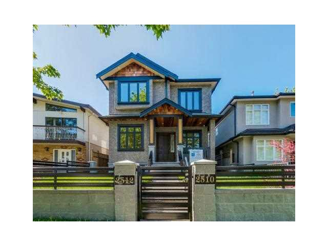 Main Photo: 2510 E 23RD AVENUE in Vancouver: Renfrew Heights House for sale (Vancouver East)  : MLS®# V1143029
