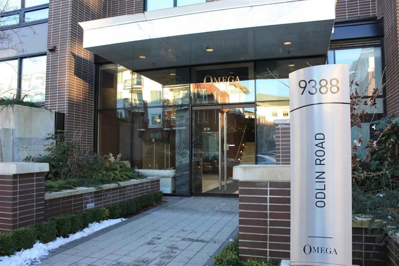"Main Photo: 325 9388 ODLIN Road in Richmond: West Cambie Condo for sale in ""OMEGA by CONCORD PACIFIC"" : MLS®# R2531947"