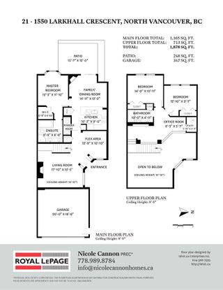 """Photo 39: 21 1550 LARKHALL Crescent in North Vancouver: Northlands Townhouse for sale in """"Nahanee Woods"""" : MLS®# R2549850"""