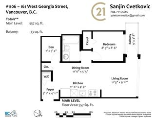 """Photo 23: 1106 161 W GEORGIA Street in Vancouver: Downtown VW Condo for sale in """"Cosmo"""" (Vancouver West)  : MLS®# R2618756"""