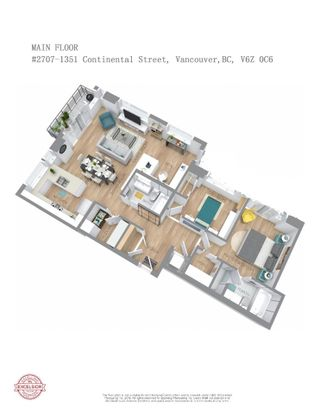 """Photo 23: 2707 1351 CONTINENTAL Street in Vancouver: Downtown VW Condo for sale in """"Maddox"""" (Vancouver West)  : MLS®# R2569520"""