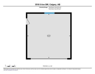 Photo 37: 3518 8 Avenue SW in Calgary: Spruce Cliff Semi Detached for sale : MLS®# C4278128