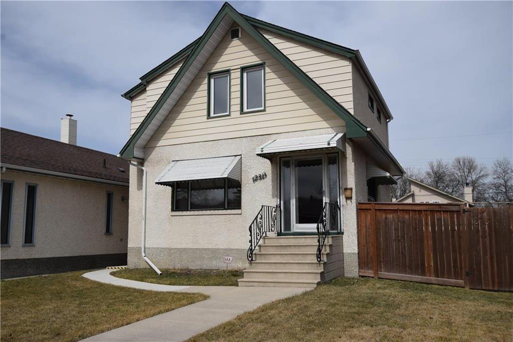 Main Photo: 231 Perth Avenue in Winnipeg: West Kildonan Residential for sale (4D)  : MLS®# 202107933