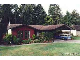 Main Photo: 6816 Jedora Dr in : CS Brentwood Bay House for sale (Central Saanich)  : MLS®# 67413