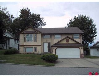 Photo 1: 32661 CHILCOTIN Drive in Abbotsford: Central Abbotsford House for sale : MLS®# F2729206