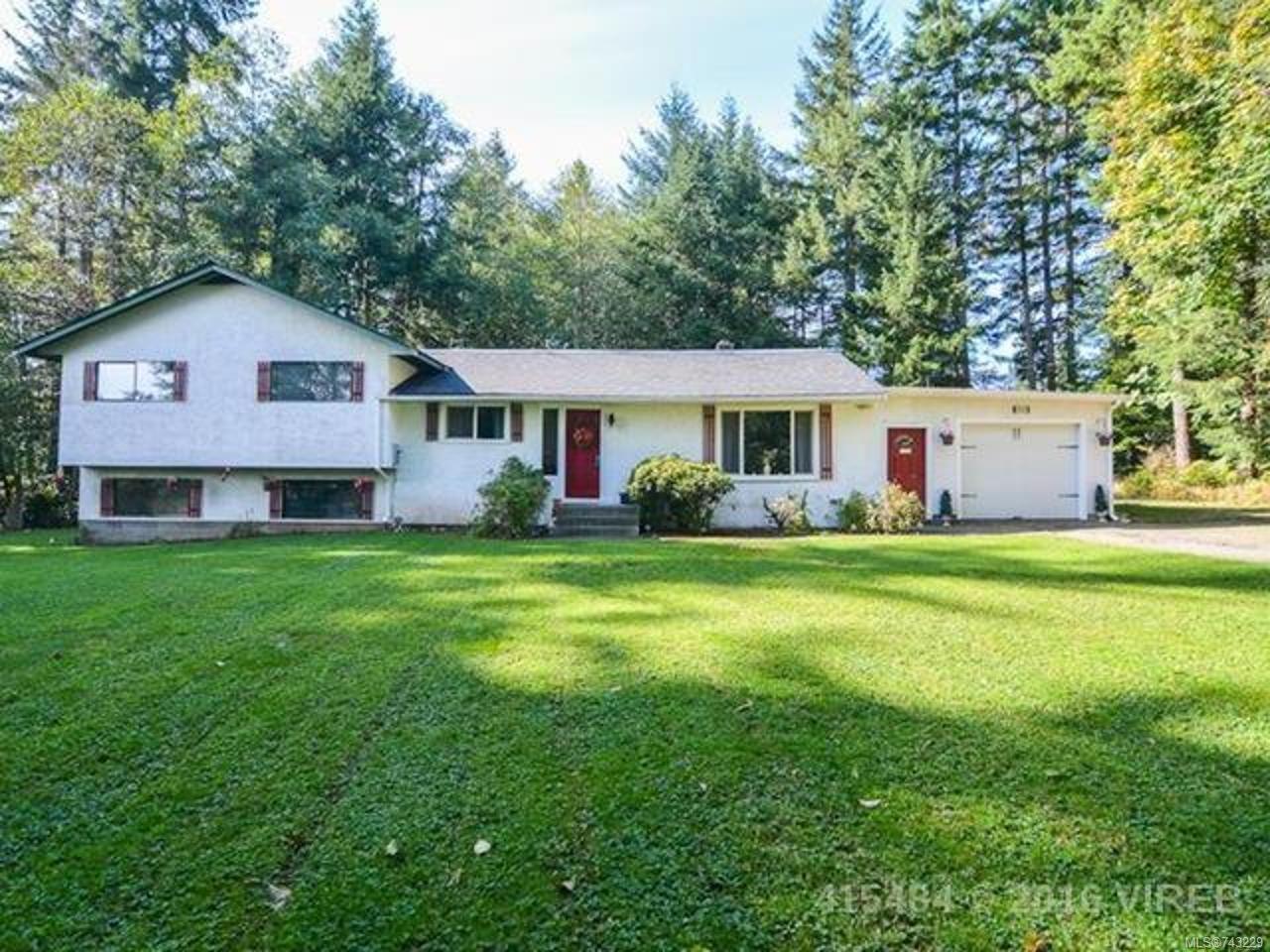 Main Photo: 7353 N Island Hwy in MERVILLE: CV Merville Black Creek House for sale (Comox Valley)  : MLS®# 743229