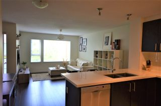 """Photo 1: 320 3163 RIVERWALK Avenue in Vancouver: South Marine Condo for sale in """"NEW WATER BY POLYGON"""" (Vancouver East)  : MLS®# R2455725"""