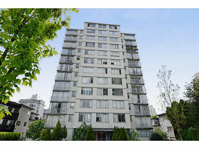 Main Photo: 601 1250 Burnaby Street in Vancouver: Condo for sale : MLS®# R238705