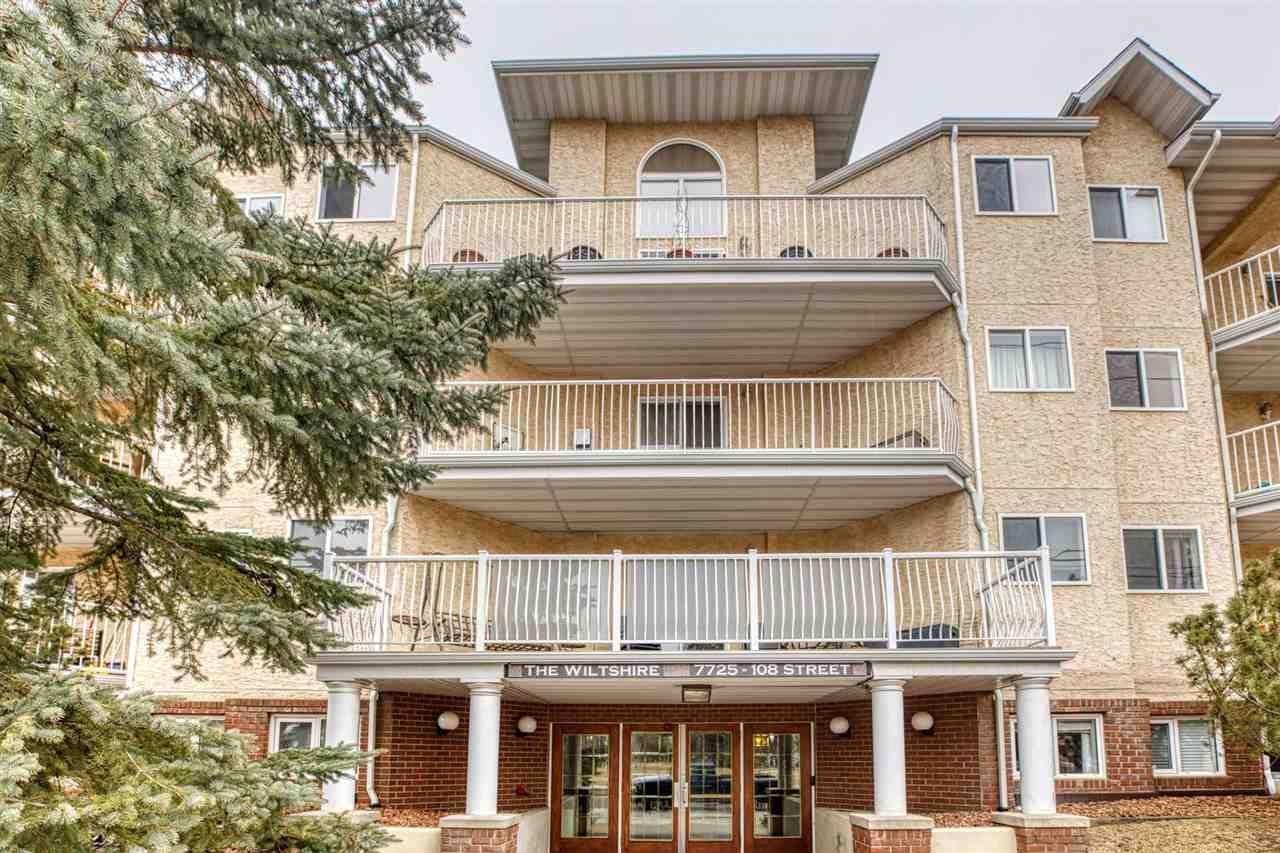 Main Photo: 402 7725 108 Street in Edmonton: Zone 15 Condo for sale : MLS®# E4234939