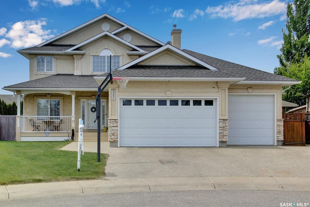 Main Photo: 5331 Boswell Crescent in Regina: Lakeridge RG Residential for sale : MLS®# SK857009