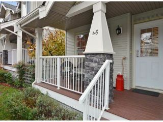 "Photo 3: 46 6568 193B Street in Surrey: Clayton Townhouse for sale in ""BELMONT AT SOUTHLANDS"" (Cloverdale)  : MLS®# F1324450"